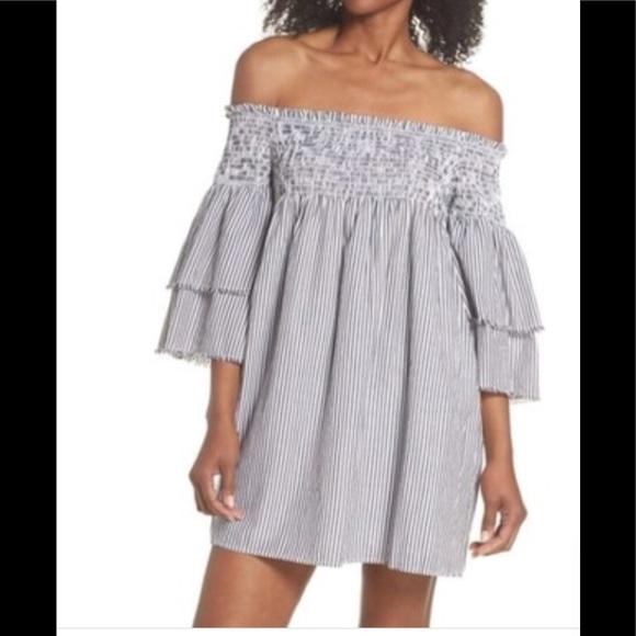 59e23b4b63 Elan Swim   Bell Sleeve Smocked Cover Up Dress   Poshmark
